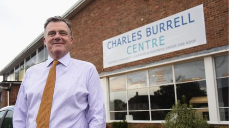 Nik Chapman, chief executive at the Charles Burrell Centre in Thetford. Picture: DENISE BRADLEY