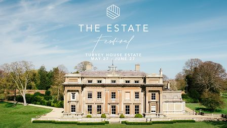 Socially-distanced events seriesThe Estate Festival will take place at Turvey House, Bedfordshire, from May 27 to June 27.