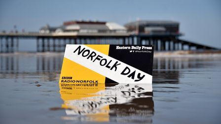 Norfolk Day Cromer beach and pier GENERIC Picture: ANTONY KELLY
