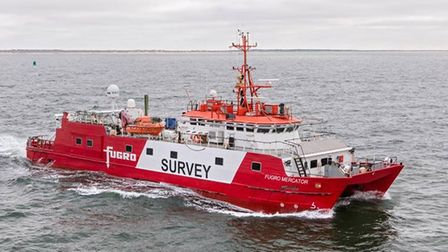 The 42m Fugro Mercator will conduct geophysical surveys of the seabed