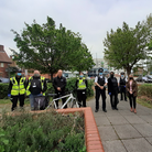 Council enforcement officers, Met officers and police community support officers