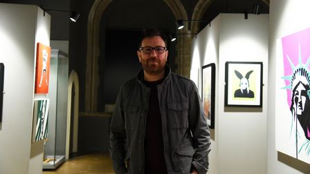 Dan Clarke Heritage officer. A brilliant art exhibition is showing at Moyse Hall Museum iin Bury, in