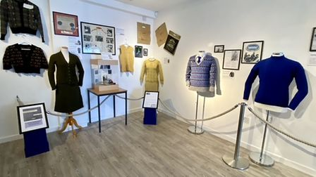 An exhibition of Dutch fishing ganseys has attracted worldwide attention.