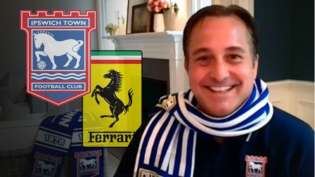 Ipswich Town co-owner Mark Detmer has explained why he ended up buying a football club rather than a Ferrari. Photo: Archant