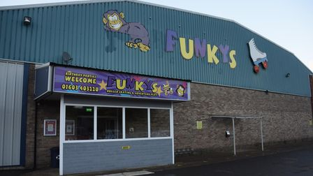 Funkys roller skating rink at the Burton Road Business Park. Picture: DENISE BRADLEY