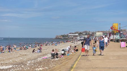 Hunstanton Beach Huts increase in sales since lock down lifted Pictures: BRITTANY WOODMAN