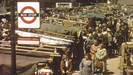Petticoat Lane in its heyday in the 1960s