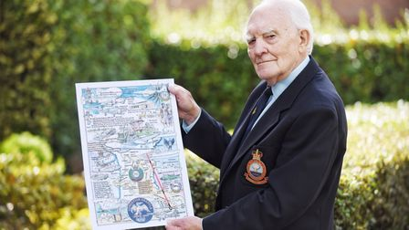 Gordon Wilcox, 79, witnessed two nuke tests on Christmas Island in the 1950's. Picture: Ian Burt