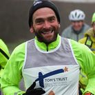 Ben Blowes running for Cambs charity Tom's Trust