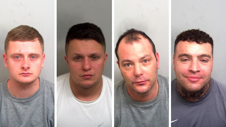 William Locke, Jake Holliday, James Martin,andJake Gregory, have been jailed by Ipswich Crown Court for drug crimes.