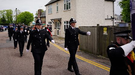 Essex Police's passing out parade