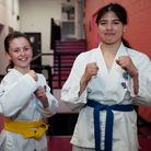 Sienna McClure and Emily Bonfante from Docklands Taekon-Do School.