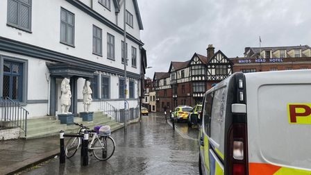 Police officers were called to Spice Lounge on Wensum Street in Norwich on Friday evening (May 21).