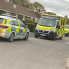 Police were spotted in Southcroft, Hethersett, on Saturday afternoon.