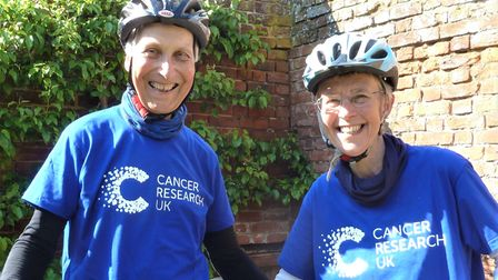 Ted Potter and his wife Amanda will cycle to 100 churches in 100 hours next week.