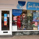The Sue Ryder charity shop in Grove Road, Norwich.