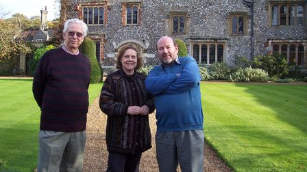 Skip with Lord and Lady Walpole at picturesque Mannington Hall, He failed auditions for any chauffeuring posts!