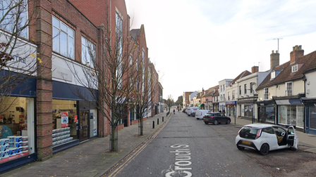 The incident took place on Crouch Street in Colchester