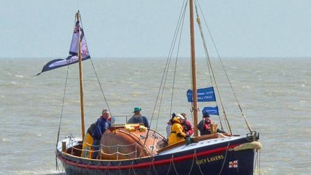 The Lucy Lavers will be going on daytrips from her base at Wells-next-the Sea throughout 2021.