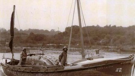 File photo of the Lucy Lavers when she was a rescue boat for the RNLI.