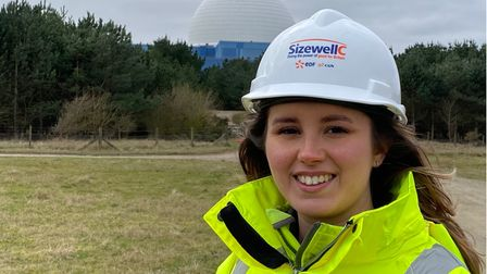 Suzy Jones, 22, is one of the young apprentices at Sizewell B