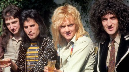 File photo dated 08/09/1976 of Queen as three previously unreleased tracks by the band, including on