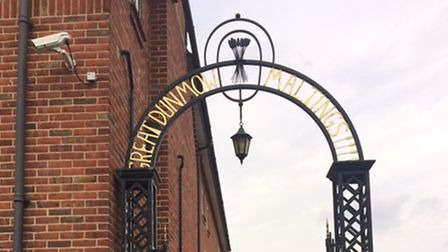 The gates to Great Dunmow Maltings and Town Museum