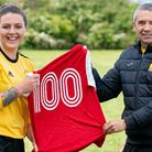 Adele Munday March Town Ladies 100 appearances