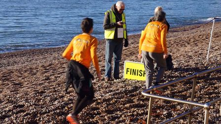 Getting over the finishing line