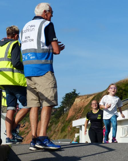 Youngsters loving the Seaton Parkrun