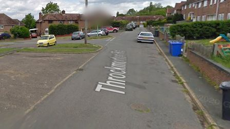 Witnesses are being sought following the theft of the car from the driveway of a home on Throckmorton Road in Bungay.
