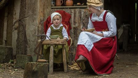 Kentwell's History Festival is taking place this weekend