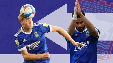 Mark McGuinness and Keanan Bennetts both spent the season on loan at Ipswich Town