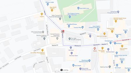 Oak Street in Fakenham will be closed to allow for emergency repairs to a broken manhole cover and frame