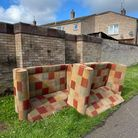 Two sofas were dumped at Canon's Walk in Thetford