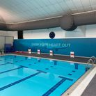 The pool at the Waveney Valley Leisure Centre in Bungay, East Suffolk.