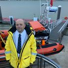 New Harwich RNLI lifeboat operations manager Peter Bull