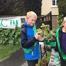 Ely and District branch of the NSPCC raised £565.76 by hosting a plant sale