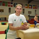 Gymnast Adam Steele, who went through to the final of the European Championships