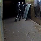 CCTV has been released following criminal damage