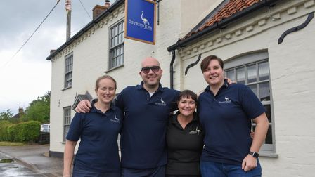 Heather Pizer-inggs, Duty Manager, Andrea Zanchi, Duty Manager, Teresa Haughey, Managing Director, a
