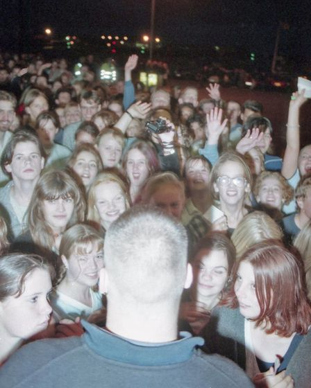 Blur at Ocean Rooms in Gorleston, 20th September 1995. Picture: Archant Library