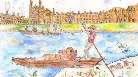 Pip Barber, who has taught at various schools across Hunts, willpublish her first book Cambridge Punting.