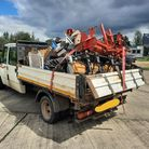 The Norfolk and Suffolk roads andarmed policing team (RCRT) found a flatbed van travelling in King's Lynn.