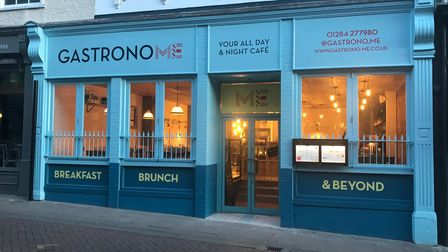 The exterior of Gastrono-me in Bury St Edmunds