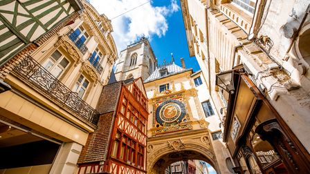 Le Gros Horloge is one of the oldest working clocks in Europe © RossHelen Getty Images