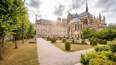The impressive Notre-Dame Cathedral in Reims ©RossHelen Getty Images