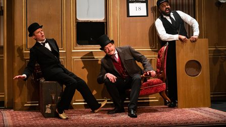 The fast-paced Around The World in 80 Days is the first production at the newly reopened Theatre Royal Bury St Edmunds