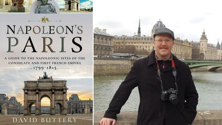 David Buttery is the author of Napoleon's Paris