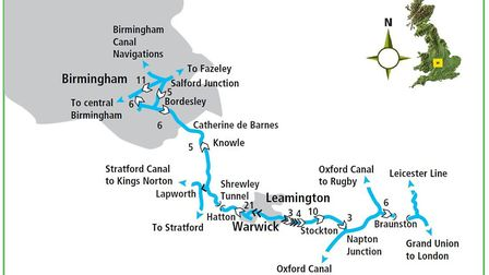 The whole route!